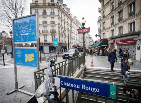 Chateau Rouge, Paris Trip