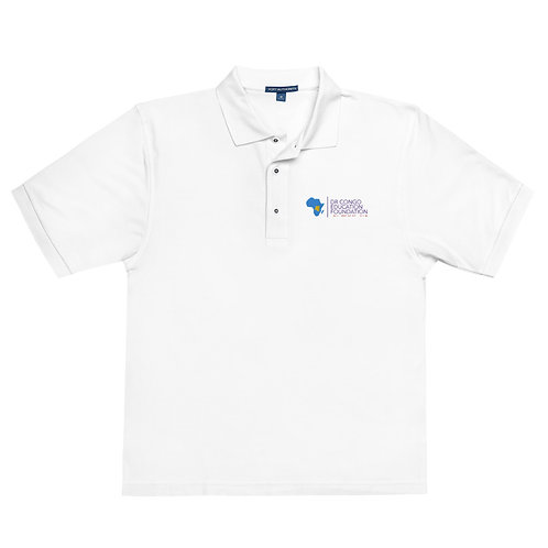 DRCEF White Polo