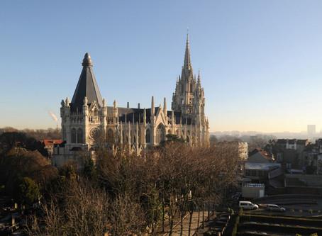 Visiting Église Notre-Dame de Laeken, Brussels, Belgium