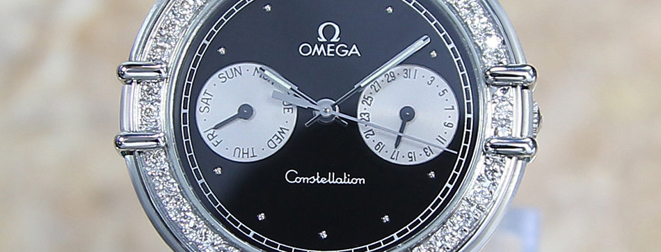 Omega Constellation Day Date Men's Watch