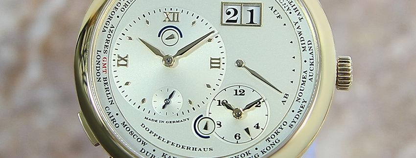 A Lange & Sohne 116.021 Lange 18k Gold Watch