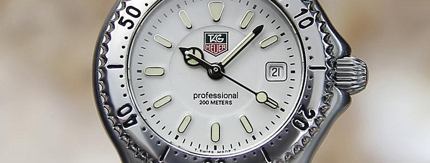 Tag Heuer Women's Professional WG 1312 Swiss Watch | WatchArtExchange