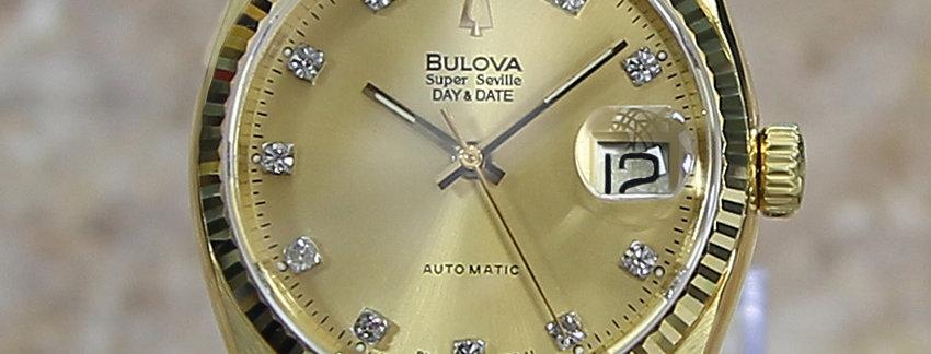 Bulova Super Seville Men's Watch