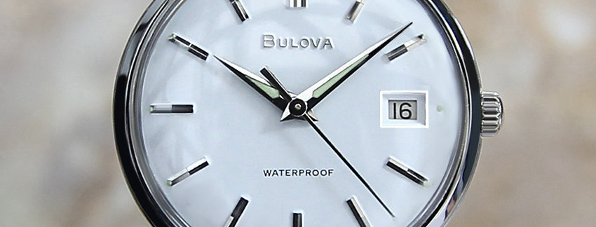 1960's Bulova M5 Vintage Men's Watch