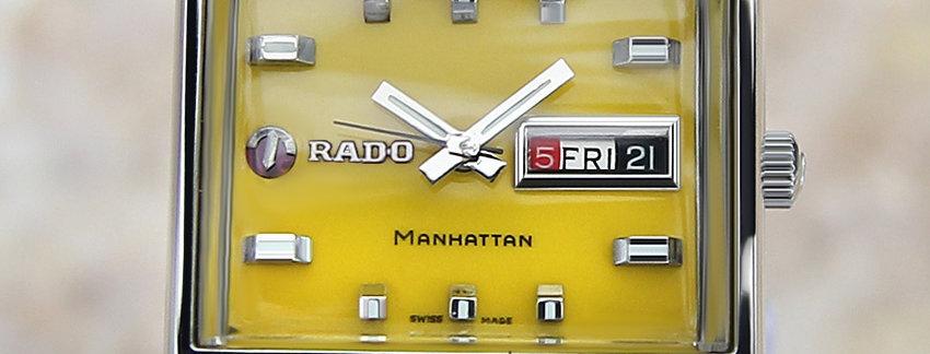 Rado Manhattan Vintage Men's Watch