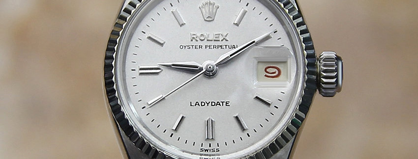 """Rolex Oyster 6519 Lady""""s Watch"""
