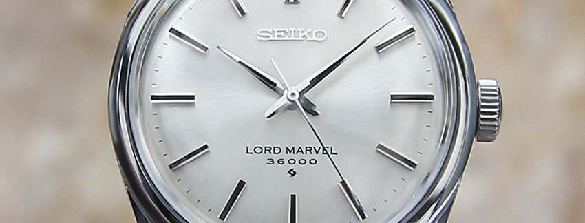 Seiko Lord Marvel 5740 8000 Men's Watch