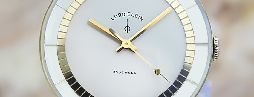 Exquisite Lord Elgin 1960s  Swiss Made  Men's Watch