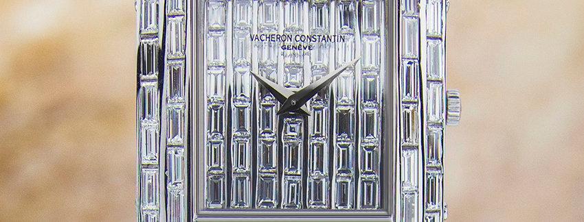 Vacheron Constantin Pavois Baguette Diamond 18k Gold Watch