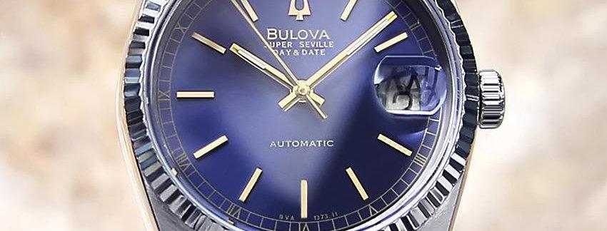 Bulova Super Seville Men's Watch - Blue Dial
