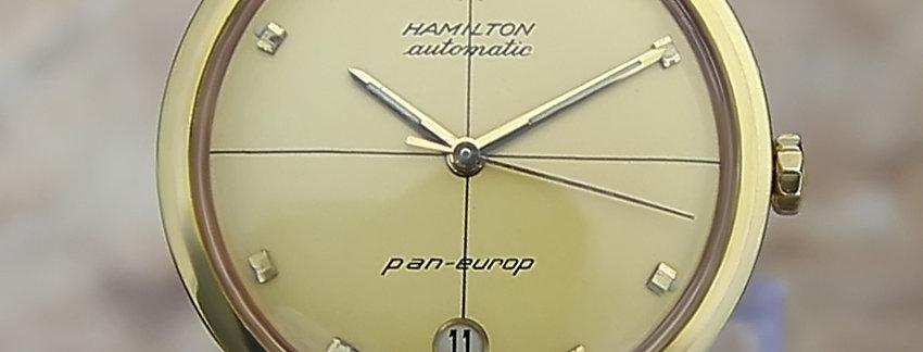 1960s Hamilton Pan Europ   Men's Watch