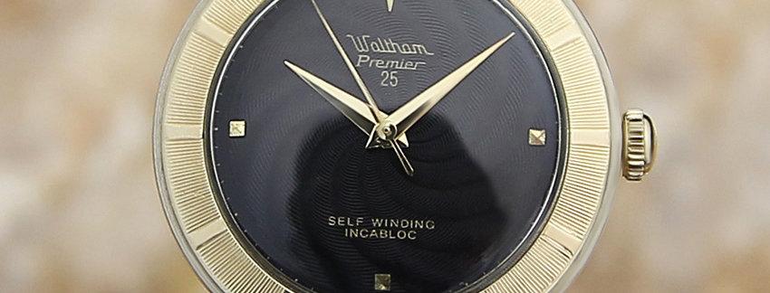 Waltham Vintage Swiss Made Men's Dress Watch - Vintage Watch