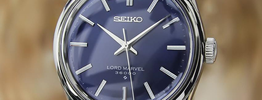 1970's Seiko Lord Marvel Watch