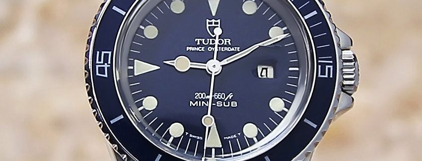 Beautiful Rare RolexTudorMini Sub 9440 Watch | WatchArtExchange