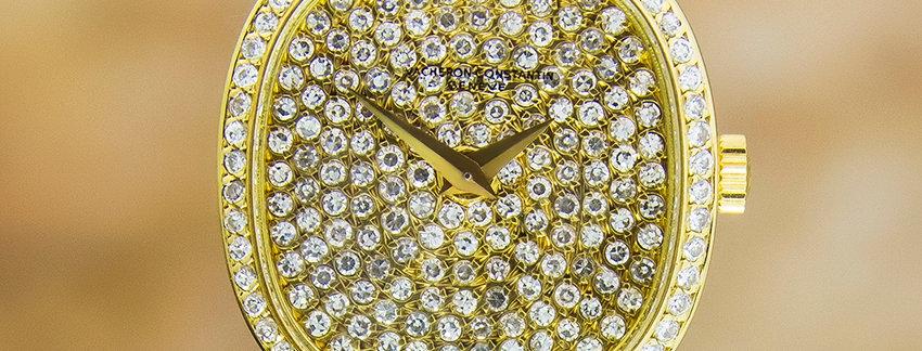 Vacheron Constantin Ladies 18k Diamond Watch c1990 - watches for sale