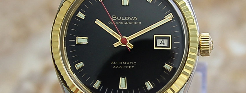 Bulova Oceanographer 333 Men's 36mm Watch