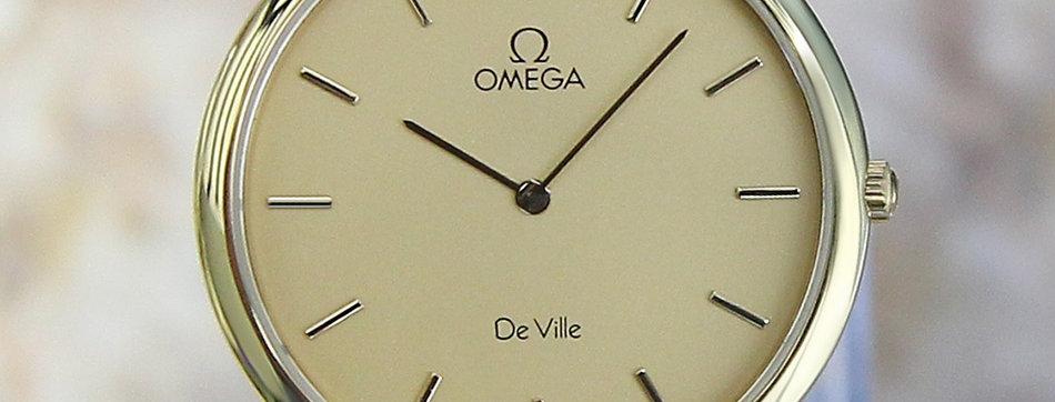 Omega DeVille Men's 1990s Vintage Watch