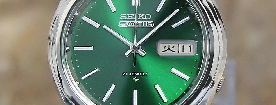 Seiko 5 Actus 7019 7060 Vintage Men's Watch