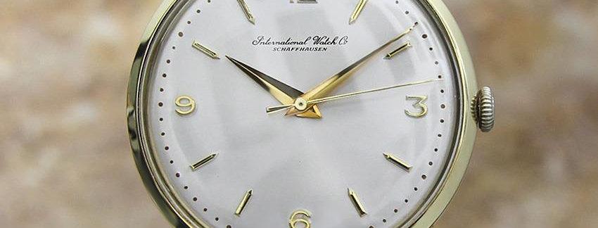 IWC  14k Gold Calibre 89 Men's Watch