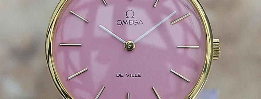 1980 Omega DeVille 111 0140 Men's Watch
