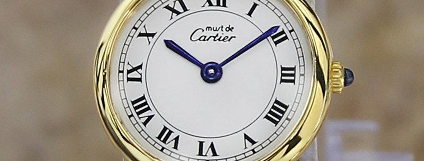 Cartier Must De Vermeil Lady's Watch