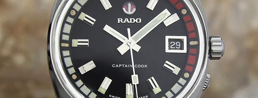 Rado Captain Cook Rare Men's 37mm Watch