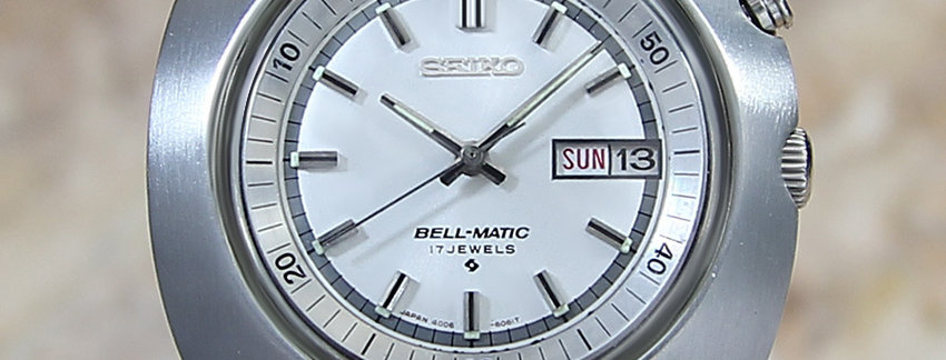 Seiko Bellmatic Ref 4006 7002 Men's Watch