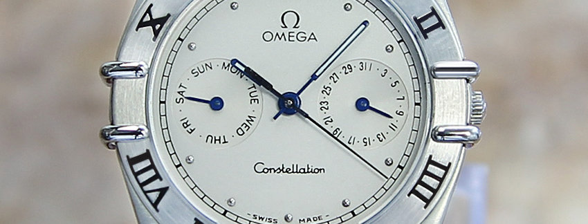 Omega Constellation Day Date Men's 33mm Watch