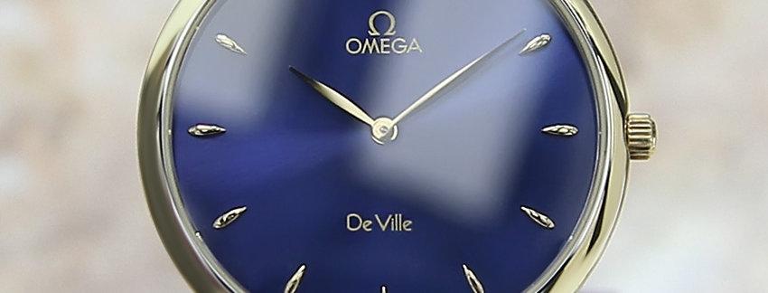 Omega DeVille 18k Gold Men's Watch