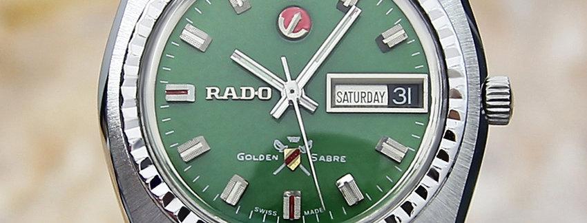Rado Golden Sabre Men's Watch