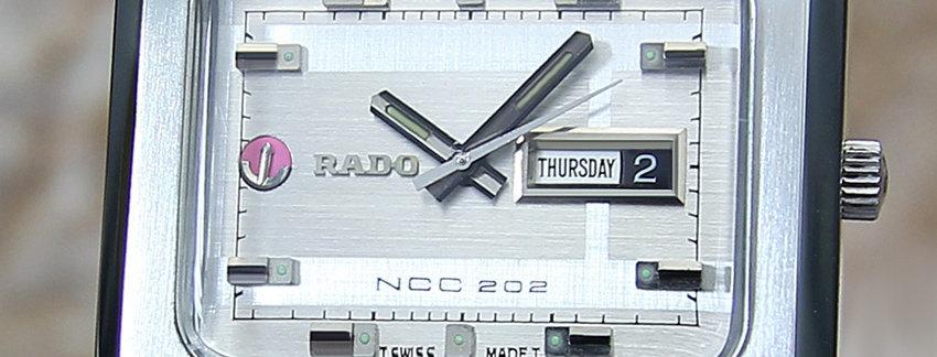 Rado NCC 202 42mm Men's Watch