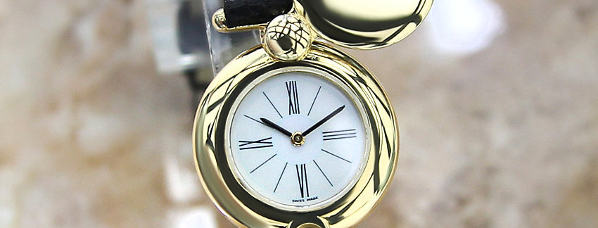 18k Solid Gold 1990  Audemars Piguet   Ladies Watch