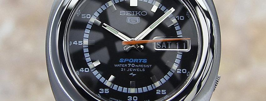 Seiko 5 Sports 7019 7050 Men's Watch