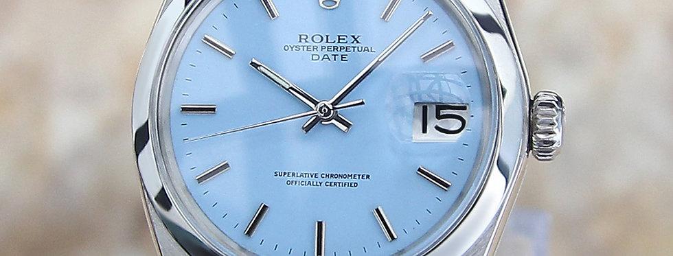 1968 Rolex 1500 Watch