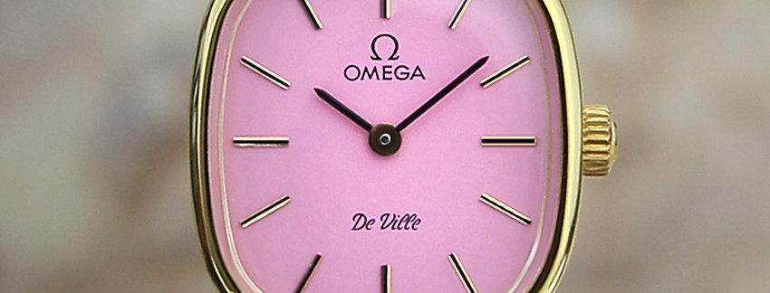 Omega DeVille Pink Ladies Watch
