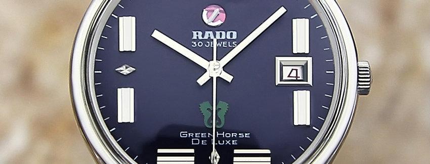 Rado Green Horse De Luxe Men's Watch