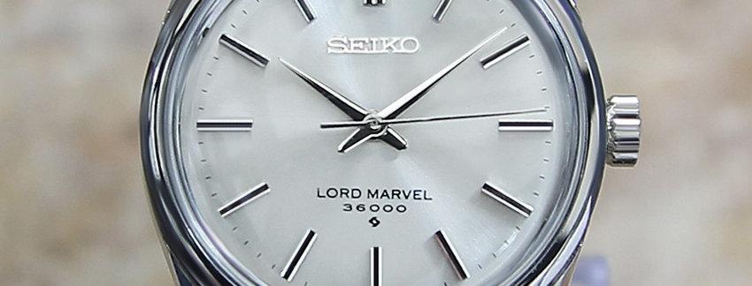 1968 Seiko Lord Marvel Watch