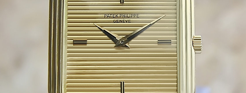 Patek Philippe 18k Solid Gold 3859 Vintage Watch