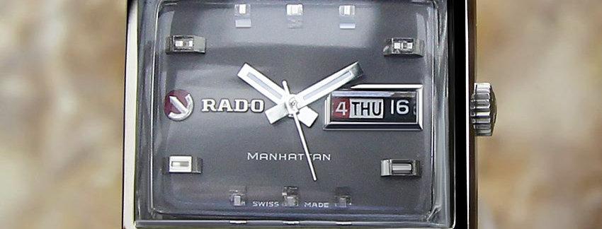 Rado Manhattan Vintage Men's 1968 Vintage Watch