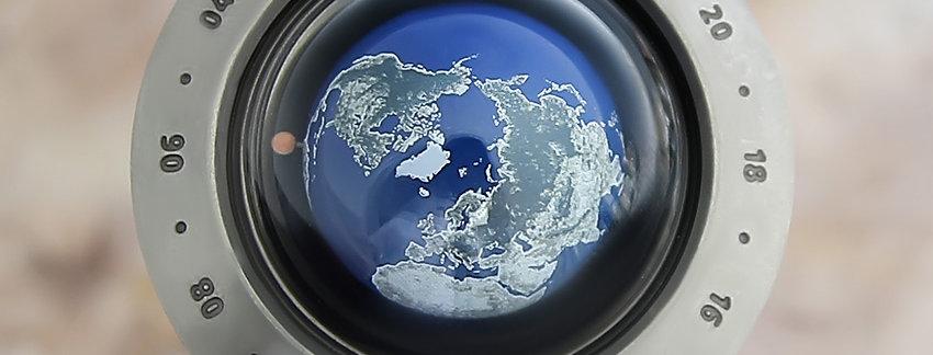 Seiko Space Port Think the Earth Titanium Men's Watch   WatchArtExchange