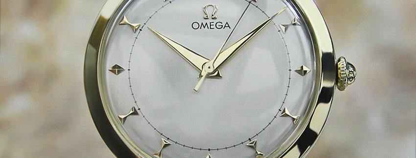Omega Gold-filled 33mm Dress Watch