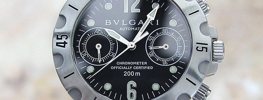 Bulgari SC 38 S Luxury Men's Watch