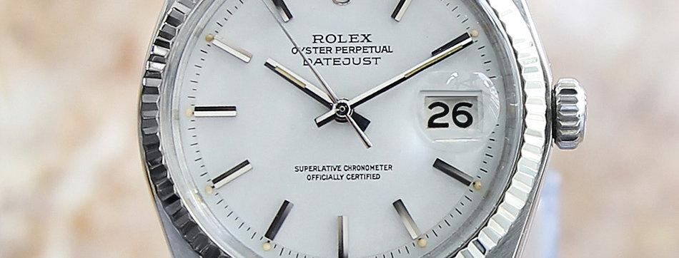 Rolex 1601 Datejust Men's Vintage Watch