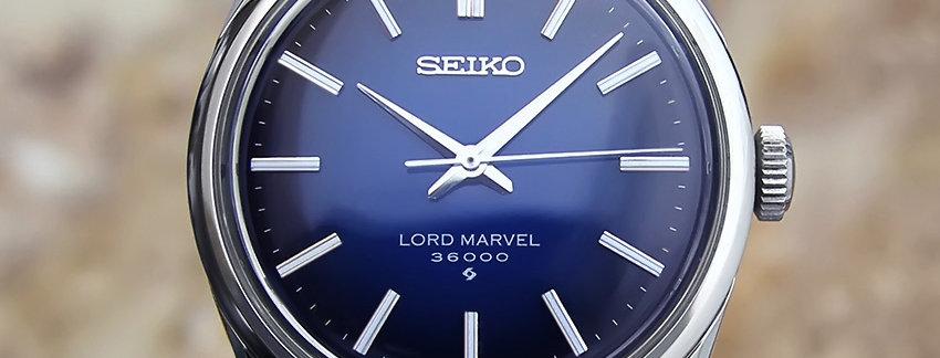 Seiko 36000 Bph Hi Beat Lord Marvel 5740 8000 Vintage Watch | WatchArtExchange