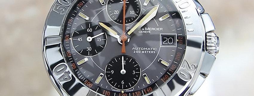 Stainless Steel  Baume & Mercier Capeland Men's Watch