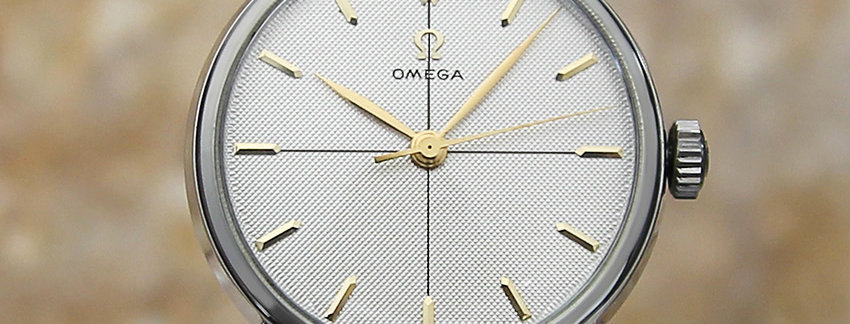 Omega 28261 34mm Vintage Watch