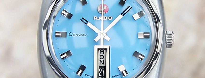 Rado Conway DE78 Jumbo Men's Watch