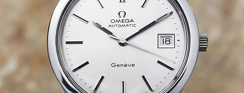 1970's Omega Geneve 166 0173 Watch