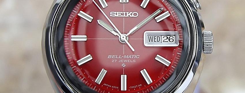 Seiko 4006 7012 Men's Watch