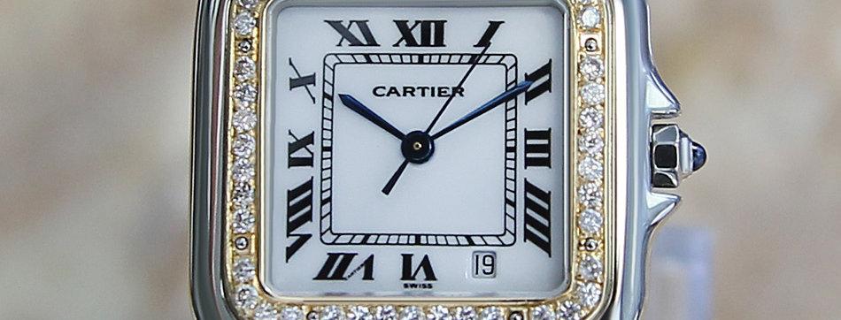 Cartier Panthere Unisex Diamond Watch